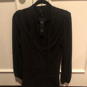 Halo black dress new with tags